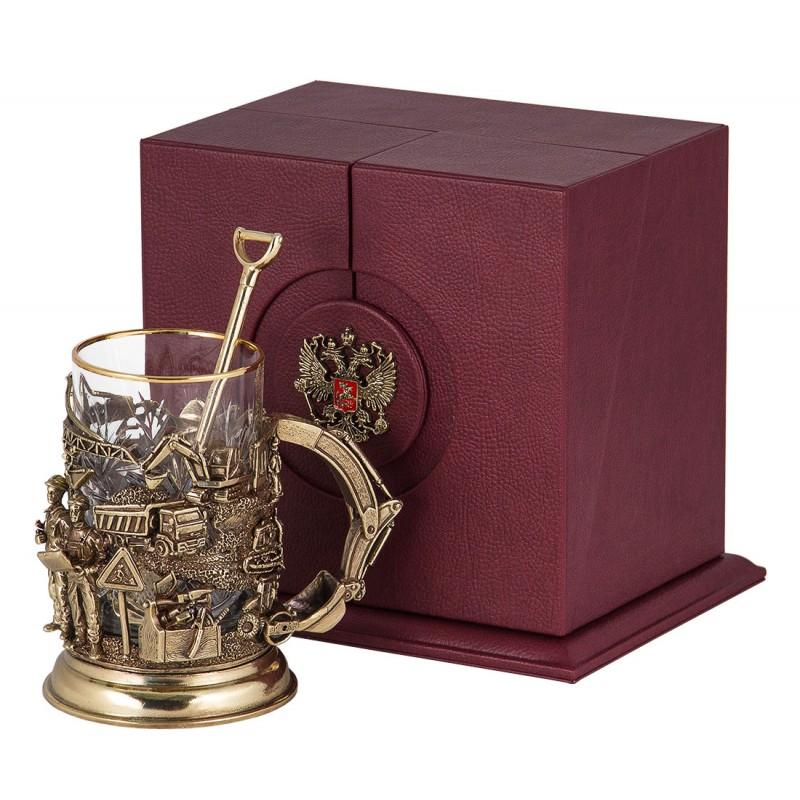 """Набор д/чая """"Строители"""" (бронза) от 15 800 руб"""